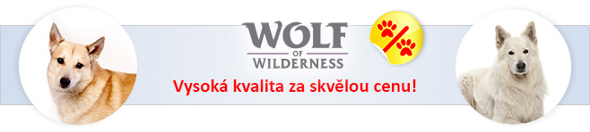 Wolf of Wilderness krmivo pro psy